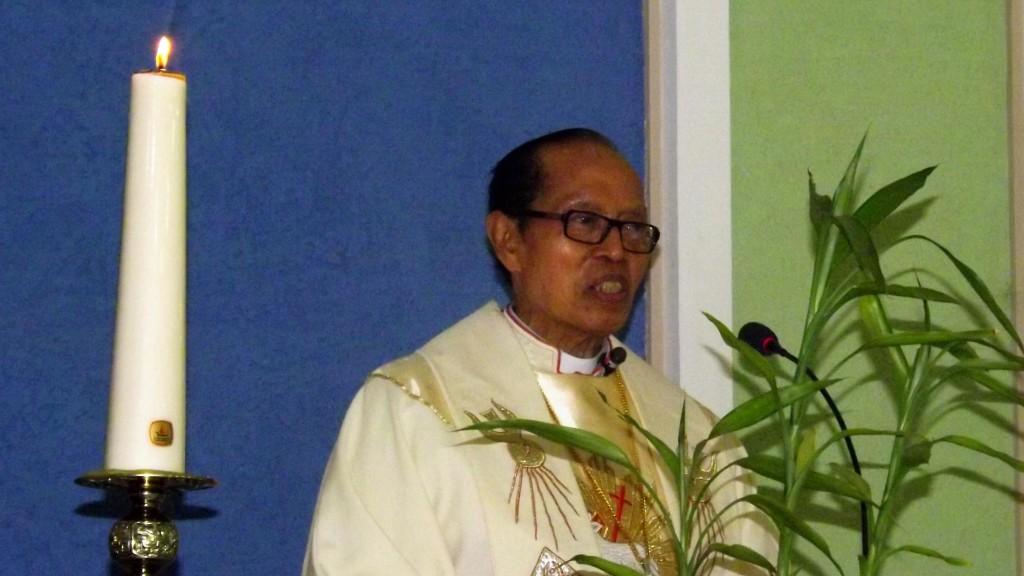 Mgr. Pandoyoputro, bisschop van Malang