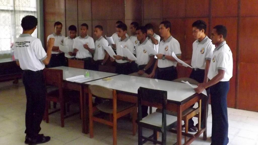Er zijn op dit moment 15 postulanten in Maumere