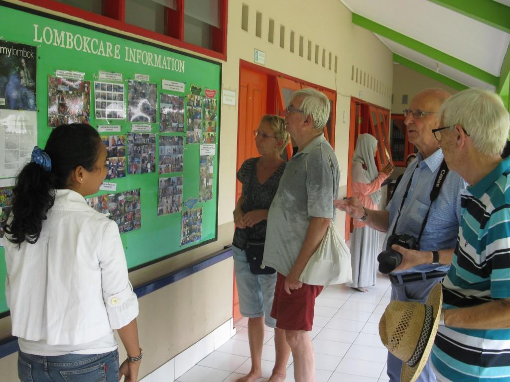 Zoals het project voor gehandicapten: Lombok Care